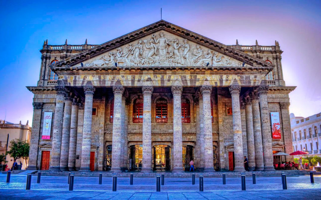 Teatro Degollado, un edificio con historia